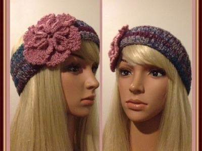 How to Crochet Earwarmers. Headband Pattern #19 │by ThePatterfamily