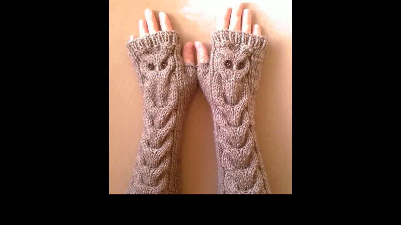 How to crochet mittens for beginners