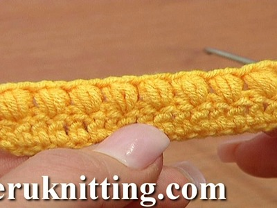 How to Crochet Puff Stitch Second Way Tutorial 37 Part 2 of 3 Crochet Basics