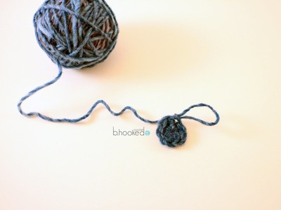 How to Crochet the Magic Ring with Half Double Crochet