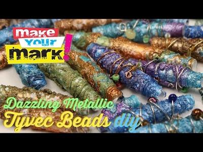 How to: Dazzling Metallic Beads DIY