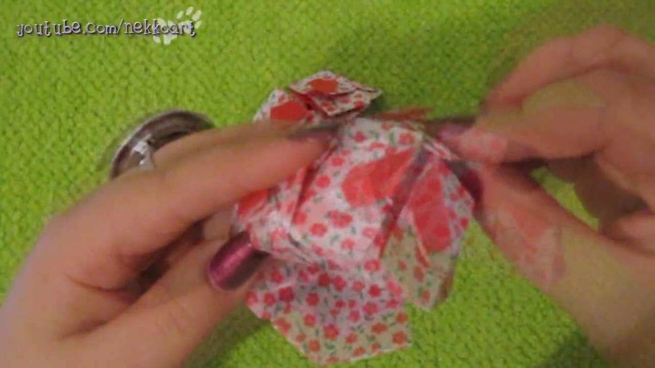 How to ensemble: Heart Cube Origami 6 Piece Module | Part II