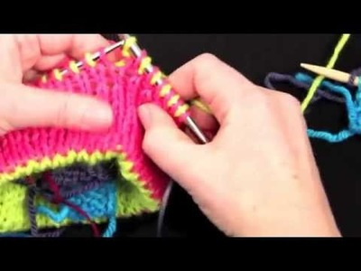 How To Knit Mittens On Circular Needles