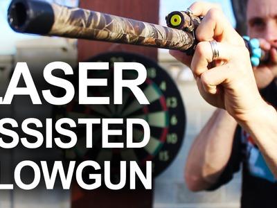 How To Make A Laser Assissted Blowgun