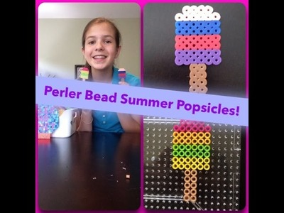 How To Make A Perler Bead Summer Popsicle