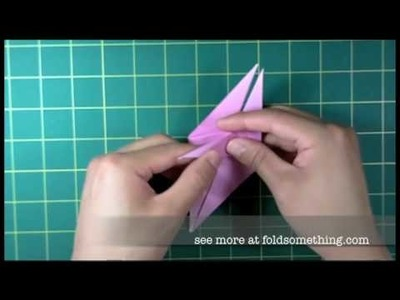 How to make an origami angel fish