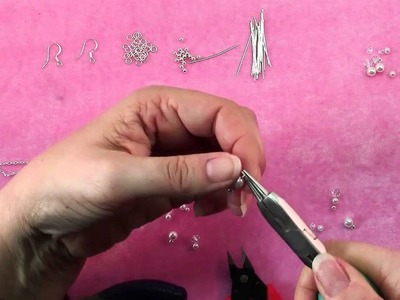 How To Make Bridal Pearl & Crystal Earrings
