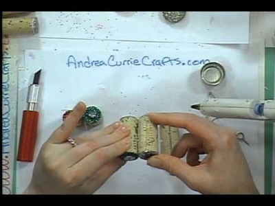 How To Make Cork Christmas Trees ( Andrea Currie ) ( Cool2Craft Demo)