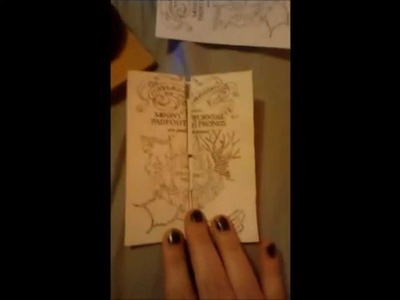 How to make. Craft a Marauders Map, Quick free download, Harry Potter, printable!