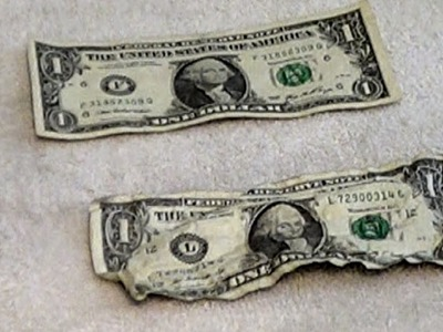 How to make Crisp Dollar Bills