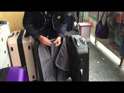 How to make fake Samsonite luggage