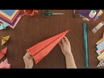 How to Make Paper Aeroplane : Paper Art Projects
