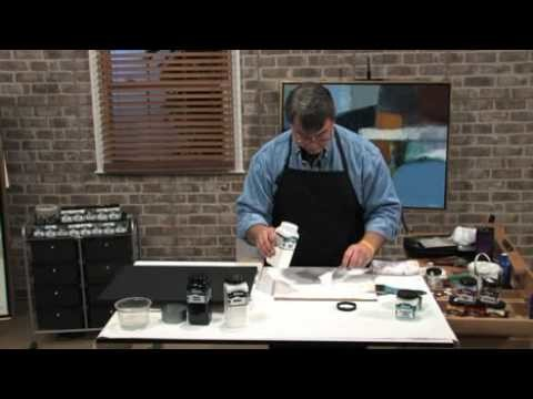 How to Prime a Canvas - Working with Gesso