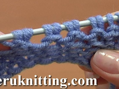 Increase Stitches Purl Stitch On Row Below Tutorial 8 Method 5 of 14 Increases in Knitting