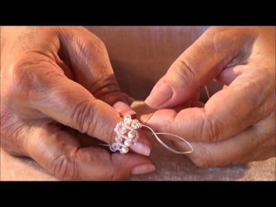 Kleshna Jewellery AB Swarovski Bead Bezel Heart Tutorial - How To