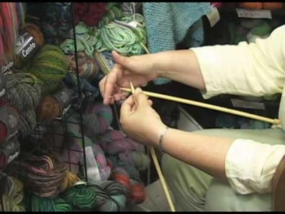 Knitting Instructional Video:  How to Do a Knitted Cast On