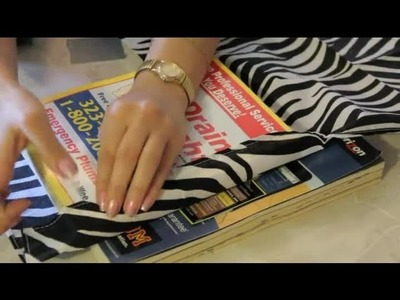 Reusing Phone Books for Crafts : Craft Projects