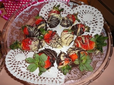 Romantic DIY Gift: Chocolate Covered Strawberries + Bloopers
