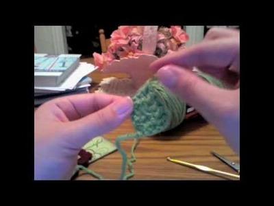 Tutorial: Crochet Flower Leaves