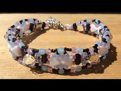(Tutorial) Mountain Of Love Bracelet (DIY) (Video 133)