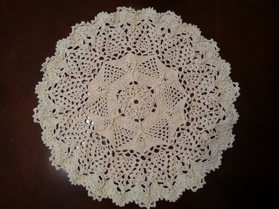 Twisted Veins Doily Part 1