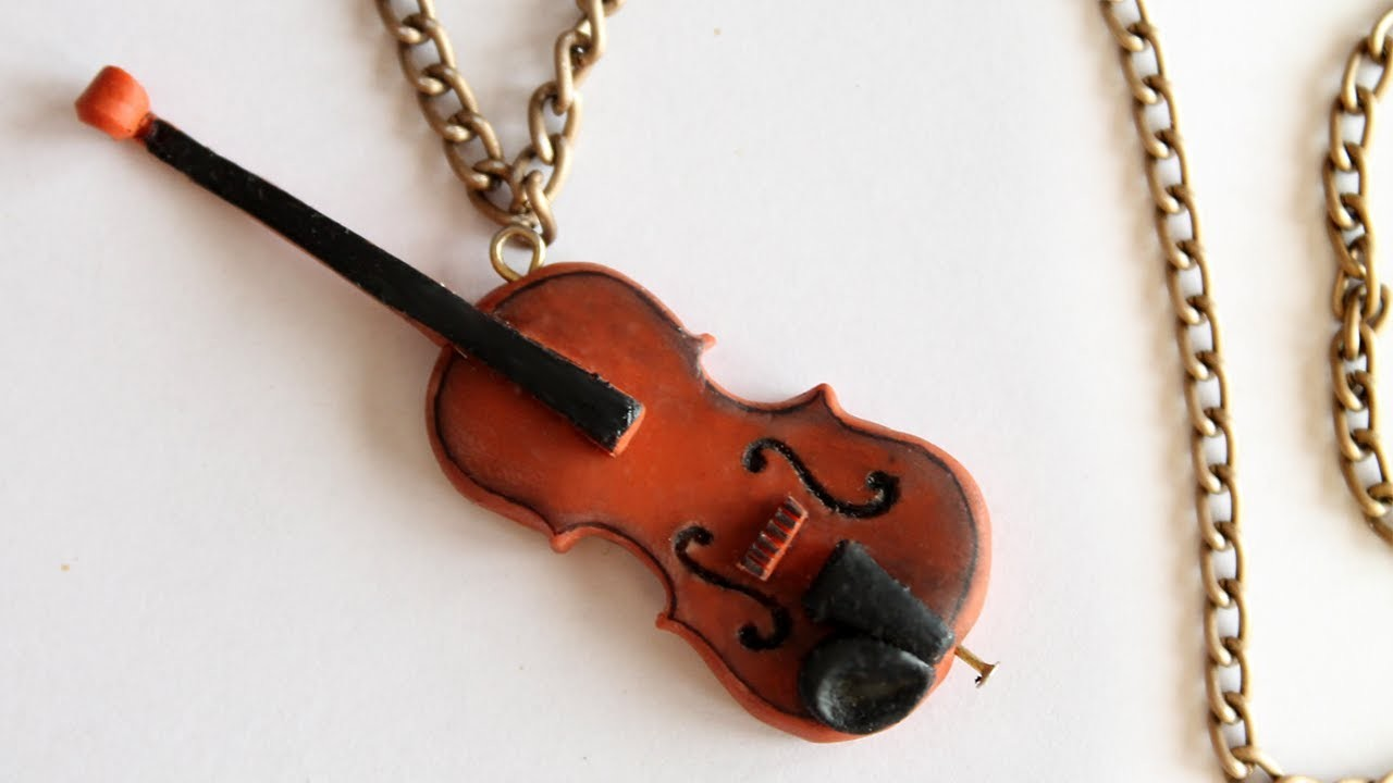 Violin Tutorial: Polymer Clay How-to
