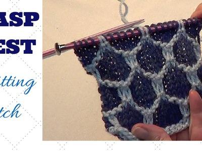 Wasp Nest Knitting Pattern
