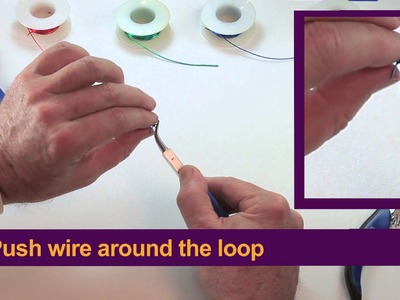WigJig Video 3 Making a wrapped Loop Jewelry Making Technique