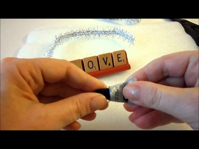 12 DIY Days of Christmas 10 Scrabble Ornament
