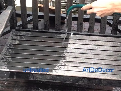 ArtDeDecor - High Water Repellency Spray DIY by ArtDeShine Thailand
