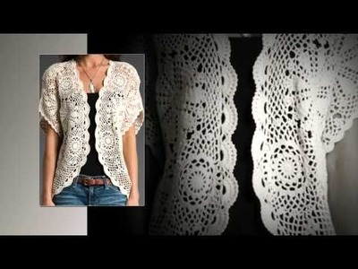 Crochet cardigan for women tutorial