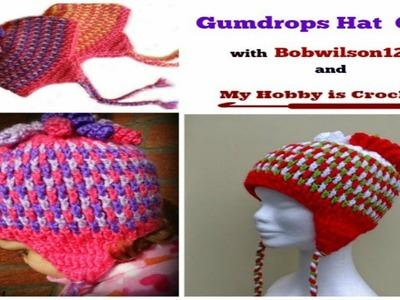 Crochet Gumdrops Hat CAL - Crochet-A-Long