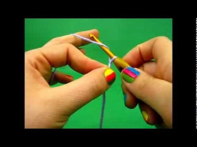 Crochet - How to do the chain stitch - ch