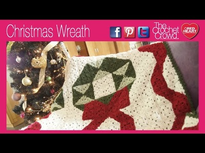 Crochet Wreath Throw Tutorial