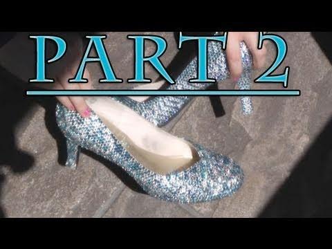 Crystal Cinderella Shoes!!!  PART 2 - The Technique