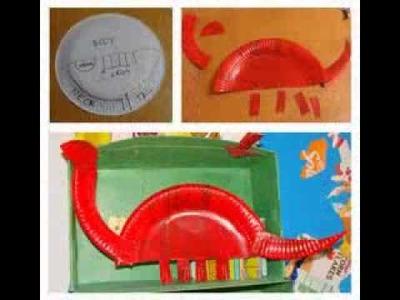 Dinosaur craft ideas