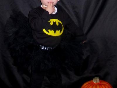 DIY Batgirl Halloween Costume!