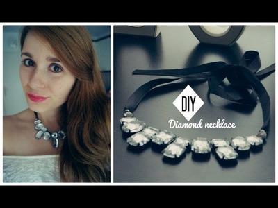 DIY Diamond necklace