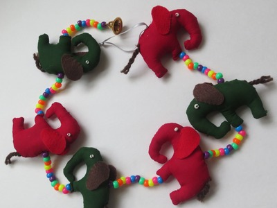 DIY: Home Decor-Wall Art: Elephants Wall Hanging
