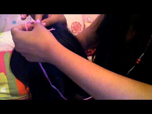 DIY: How to do your own Hair Wrap