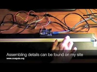 DIY MIDI Ribbon Controller with Arduino