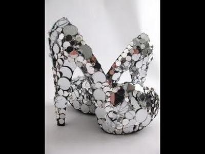 DIY Mirror Shoes