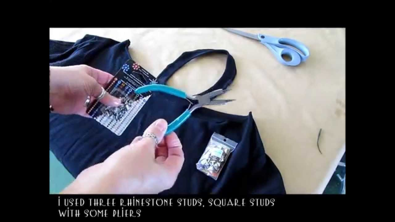 DIY No Sew Jewelled Halter