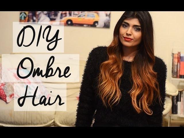 DIY Ombre Hair Tutorial. Talk For Dark Brown And Black Hair  |  shewearsfashion