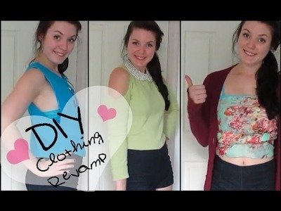 DIY: Revamp Your Old Clothes! (NO SEW)