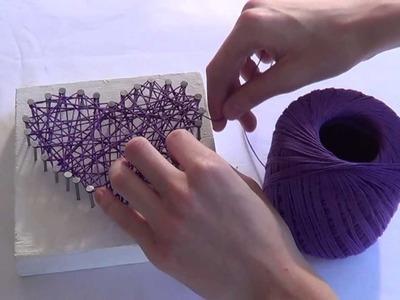 DIY: String Art - ColourfulCreativity