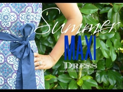 DIY Summer Maxi Dress