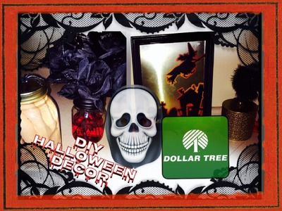 Dollar Tree Halloween Decor DIY (+haul) ☠ 3 Quick & Easy Projects!