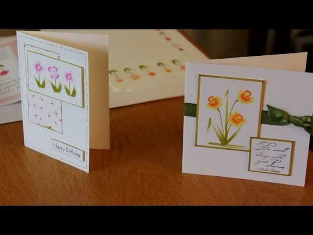 Draw Quick and Easy Flowers with Calligraphy Pens by Craft Fairy