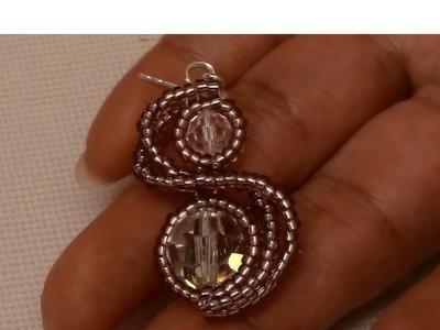 Handmade Jewelry: Sparkling Twin Earrings